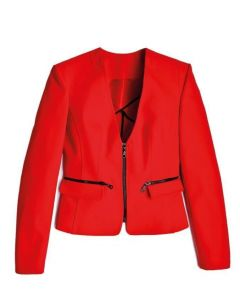 LSL Women Blazer Zip - Red