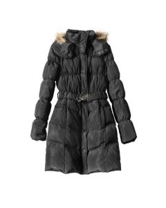 LSL Women Goose Feathers Coat - Black