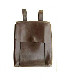 LSL Women Leather Satchel Brown