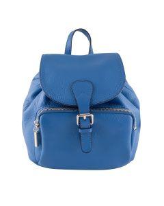 LSL Women Leather Bag Royal Blue