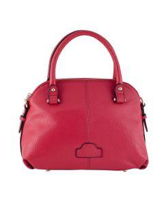 LSL Women Leather Bag Dark Pink