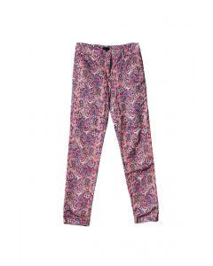 LSL Women Long Trouser Artistic Pink Pattern