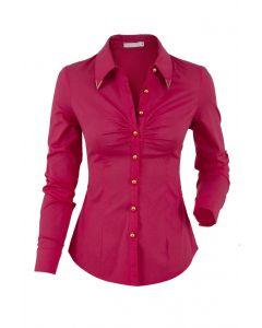 LSL Women Shirt Luxury Slim - Red
