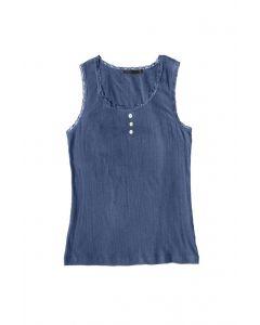 LSL Women Sleeveless Tee Midnight Blue
